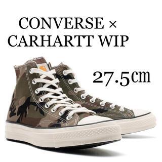 カーハート(carhartt)のCARHARTT WIP × CONVERSE CHUCK 70 HI(スニーカー)