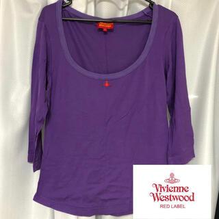 Vivienne Westwood - Vivian Westwood Tシャツ ロンT 紫 古着 vintage