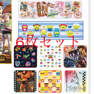 ディズニー(Disney)のトイストーリー タオル 6枚セット(キャラクターグッズ)