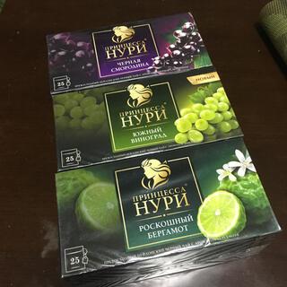 ロシア製最高級輸入ロシアンティー 三箱セット 37.5gX3 ロシア紅茶(茶)