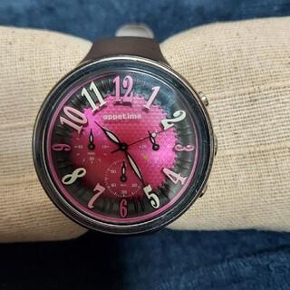 アピタイム(appetime)のラバーベルト 腕時計 アピタイム(腕時計)