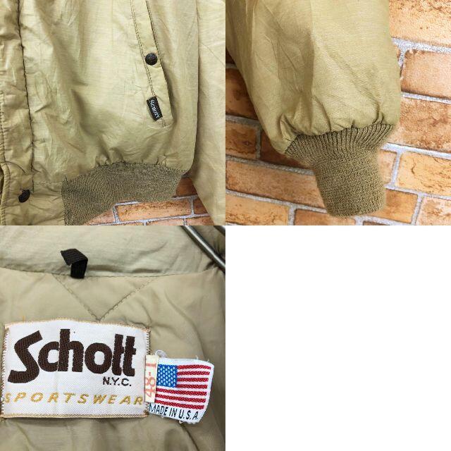 schott(ショット)の☆ショット☆SCHOTT USA製 中綿ジャケット アウター ブルゾン メンズのジャケット/アウター(その他)の商品写真