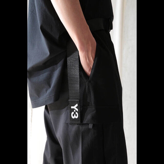 Y-3 - ◆ Y-3 ロゴ クラシックロゴベルト ロングベルト ワイスリー L ◆