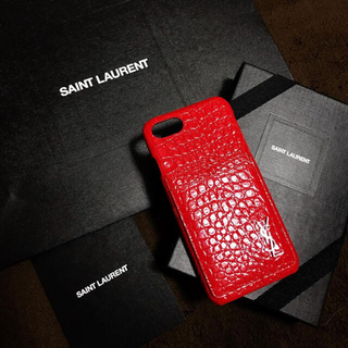 サンローラン(Saint Laurent)のiPhone7、8ケース(iPhoneケース)