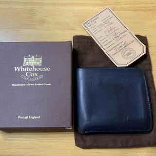 ホワイトハウスコックス(WHITEHOUSE COX)のホワイトハウスコックス S7532 ヴィンテージブライドルレザー 二つ折り財布(折り財布)