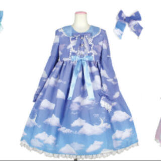 アンジェリックプリティー(Angelic Pretty)のMisty Skyワンピース set(ひざ丈ワンピース)
