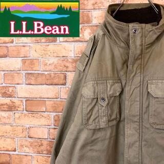 エルエルビーン(L.L.Bean)の☆エルエルビーン☆裏ボアジャケット カバーオール ロング ベージュ ビッグサイズ(その他)