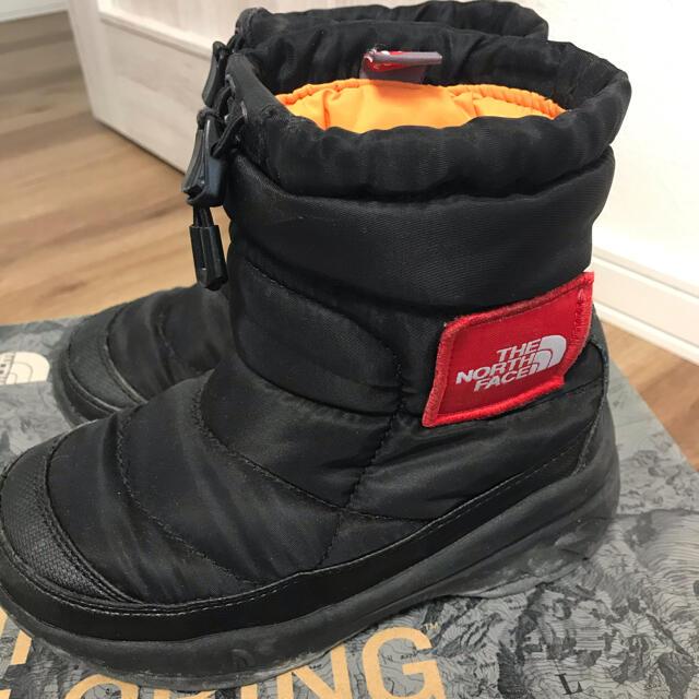 THE NORTH FACE(ザノースフェイス)のザノースフェイスヌプシブーツ キッズ/ベビー/マタニティのキッズ靴/シューズ(15cm~)(ブーツ)の商品写真