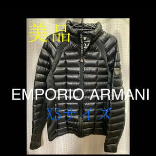 エンポリオアルマーニ(Emporio Armani)の【美品】EMPORIO ARMANI ダウンジャケット XS(ダウンジャケット)