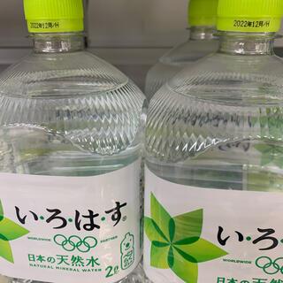 コカコーラ(コカ・コーラ)のい・ろ・は・す 2L [6本] (ミネラルウォーター)
