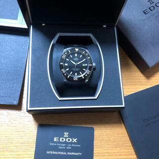 EDOX - EDOX エドックス クロノオフショア1 プロフェッショナル ベルト新品