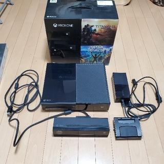 エックスボックス(Xbox)のXbox One + Kinect(Day One エディション)(家庭用ゲーム機本体)