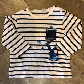 ファミリア(familiar)の美品✴️ファミリア ロンティー 80(Tシャツ)