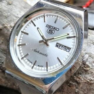 セイコー(SEIKO)の【希少!】SEIKO5 自動巻き1970年代!ヴィンテージ腕時計メンズセイコー5(腕時計(アナログ))