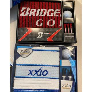 xxio.ブリヂストン ボール、ティー、タオルセット  (ゴルフ)
