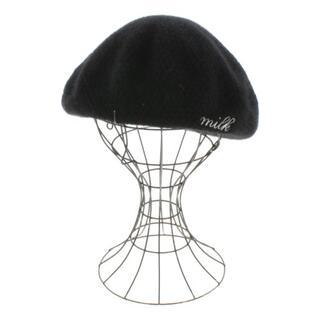 ミルク(MILK)のMILK  ハンチング・ベレー帽 レディース(ハンチング/ベレー帽)
