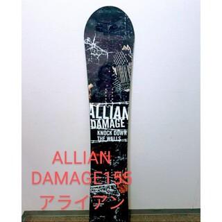アライアン(ALLIAN)のアライアン ダメージ 155cm ALLIAN DAMAGE スノーボード(ボード)