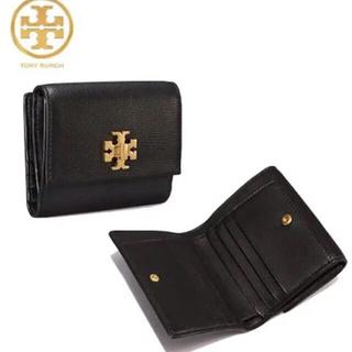 トリーバーチ(Tory Burch)の【決算大セール】トリーバーチ ブラックの折財布☆新品 高級質感 SALE中❣️(財布)