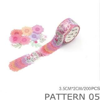 花 マスキングテープ(テープ/マスキングテープ)