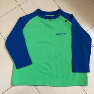 モンベル(mont bell)のモンベル  長袖 Tシャツ 80 キッズ(Tシャツ)