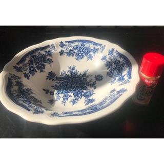 ニッコー(NIKKO)のBLUE CARNATION 深皿 サラダボウルプレート IRONSTONE(食器)