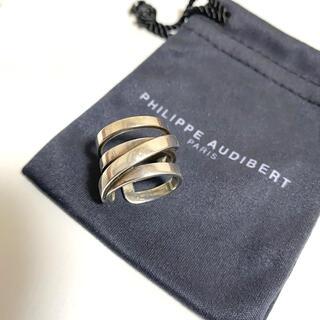 フィリップオーディベール(Philippe Audibert)のフィリップオーディベール♡シルバーデザインリング(リング(指輪))