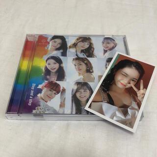 ソニー(SONY)のNiziU CD Step and a step(B盤) アヤカ トレカつき(K-POP/アジア)