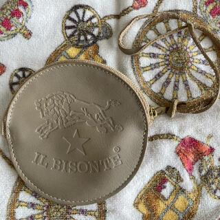 イルビゾンテ(IL BISONTE)のイルビゾンテ IL BISONTE 丸型 ラウンドコインケース 小銭入れ(コインケース)