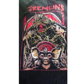 オーバーザストライプス(OVER THE STRIPES)のレア映画 グレムリン ギズモ 希少プリントTヘビーコットン(Tシャツ/カットソー(半袖/袖なし))