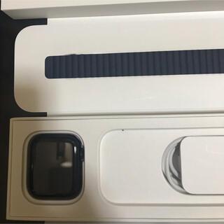 アップルウォッチ(Apple Watch)のApple Watch 6 ネイビー GPSモデル(腕時計(デジタル))
