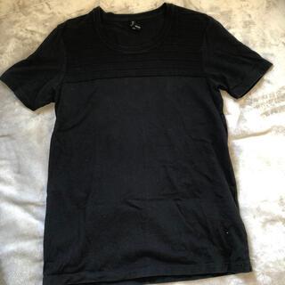 ブラックバレットバイニールバレット(BLACKBARRETT by NEIL BARRETT)のBLACK BARRETT ブラックバレットの黒Tシャツ(Tシャツ/カットソー(半袖/袖なし))