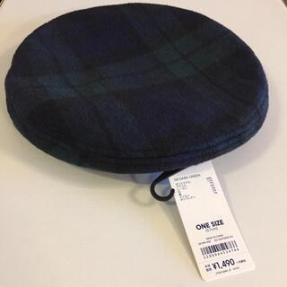 ジーユー(GU)のGU ベレー帽 ハンチング 帽子(ハンチング/ベレー帽)