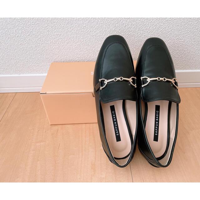 Le Talon(ルタロン)のSAPPUN 【新品】ゴールド飾り ローファー レディースの靴/シューズ(ローファー/革靴)の商品写真