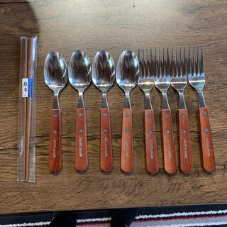 ユニフレーム(UNIFLAME)のユニフレーム フォークスプーン箸セット(食器)