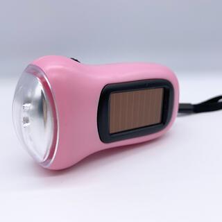 ソーラー手回し式充電ライト(防災関連グッズ)