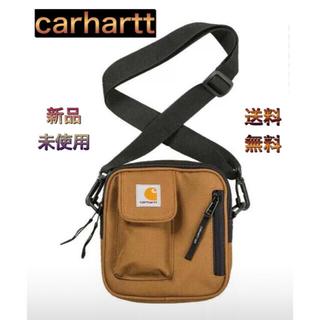 カーハート(carhartt)の【SALE】Carhartt カーハート ブラウン ショルダーバッグ ポケット有(ショルダーバッグ)