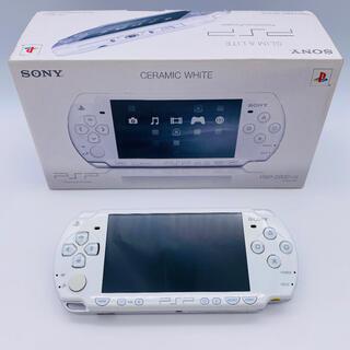 プレイステーションポータブル(PlayStation Portable)のSONY PlayStationPortable PSP-2000 CW(携帯用ゲーム機本体)