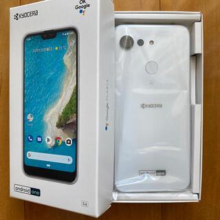キョウセラ(京セラ)の週末限定価格Android One S6 SIMフリー(スマートフォン本体)