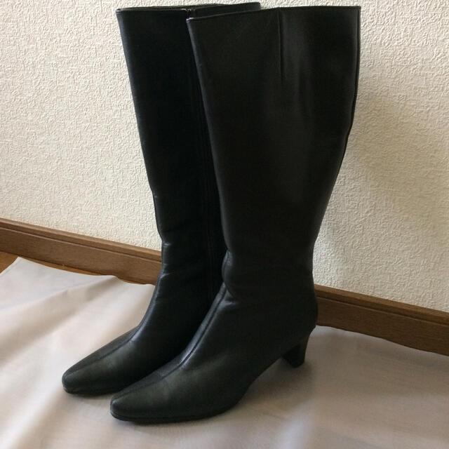 REGAL(リーガル)のリーガル ブーツ 脹脛ゆったりタイプ レディースの靴/シューズ(ブーツ)の商品写真