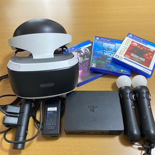 プレイステーションヴィーアール(PlayStation VR)のPlayStation VR セット(家庭用ゲーム機本体)