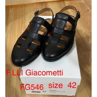 ジェーエムウエストン(J.M. WESTON)のF.LLI Giacometti FG546 グルカ サンダル 42(サンダル)