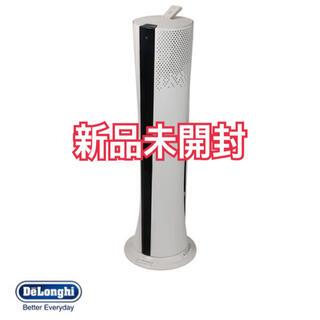 デロンギ(DeLonghi)の【新品】デロンギ 空気清浄機能付きファン CFX85WC-BK(扇風機)