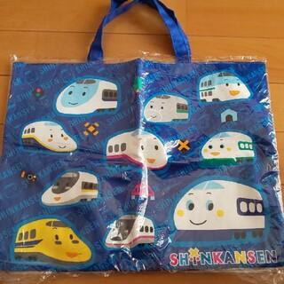 サンリオ(サンリオ)の子ども手提げ 新幹線柄◆新品未使用◆(通園バッグ)