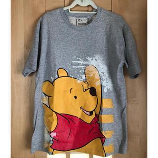 ディズニー(Disney)のTシャツ ディズニー プーさん(メンズ/M)(Tシャツ/カットソー(半袖/袖なし))