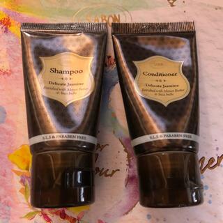 サボン(SABON)のSABON  シャンプー コンディショナー  デリケートジャスミンの香り(シャンプー/コンディショナーセット)