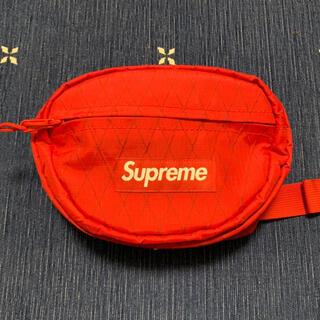 シュプリーム(Supreme)のシュプリーム/SUPREME 18AWボックスロゴナイロンウエストバッグ(ボディーバッグ)