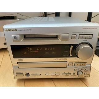ONKYO - ONKYOオンキョー CD&MDコンポ FR-V3 ジャンク品