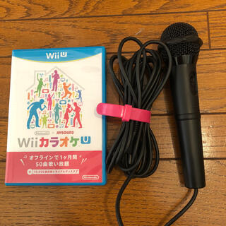 ニンテンドウ(任天堂)のharman様専用 Wiiカラオケマイク(家庭用ゲームソフト)