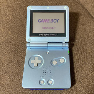 ゲームボーイアドバンス(ゲームボーイアドバンス)のGBA SP 完品 美品 おまけ ソフト付(携帯用ゲーム機本体)