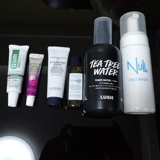 ルベル(ルベル)の化粧水 洗顔 歯磨き粉 シャンプー トリートメント コスメ セット ユニセックス(サンプル/トライアルキット)